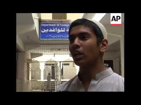 Religious school students react to alleged UK terror plot