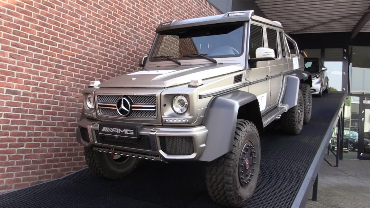 Mercedes-Benz G63 AMG 6x6 2015 Start Up In Depth Review ...