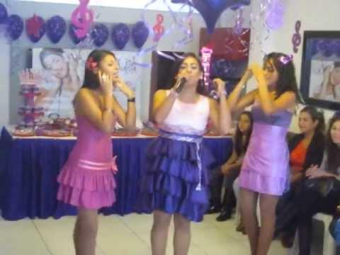 FANTASY KIDS - MUSICAL DE VIOLETTA  - HOY SOMOS MAS - ANIMADORA STEYSI