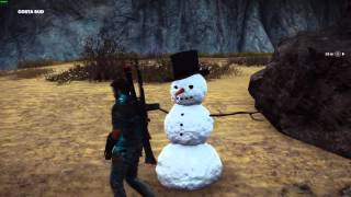 Just Cause 3 - PC - Mr. Snowman Easter Egg