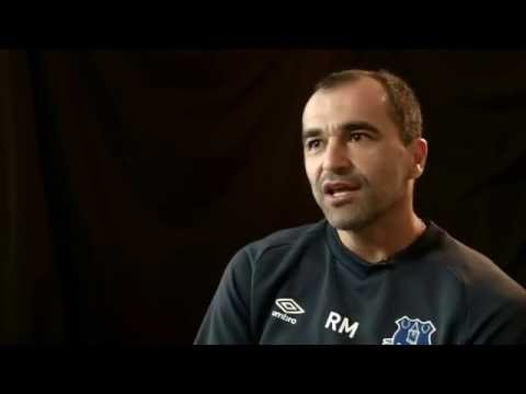 Interview with Roberto Martinez