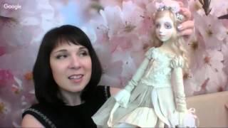Мастер класс лепка куклы. Татьяна Симукова