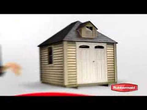 Rubbermaid Big Max Shed Instructions