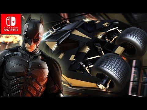 Rocket League - DLC Dark Knight Rises Tumbler vs 89 Batmobile ROUND 2