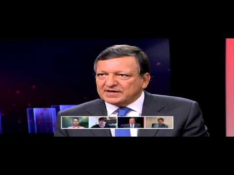 Hangout with President Barroso on Europe - full version