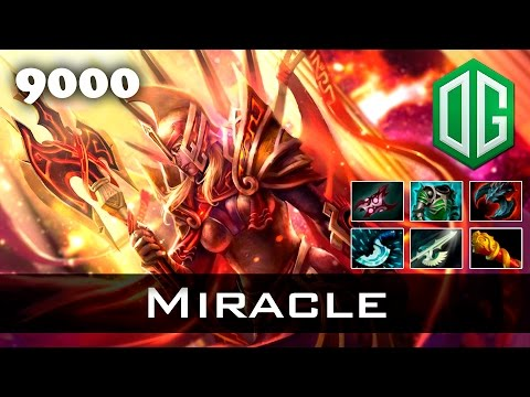 Miracle Legion Commander - 9000 MMR Ranked Dota 2