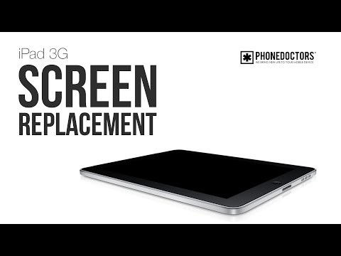 Apple iPad 3G LCD Screen Repair (1st Generation) Guide