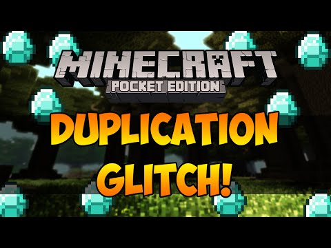 Minecraft Pocket Edition: Duplication Glitch!   How to Duplicate items in Minecraft PE!