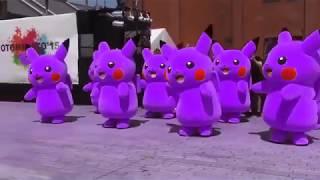 Pikachu dance kids song, Nursery Rhyme For Children, pikachu, baby shark