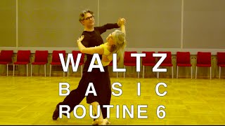 How to Dance Waltz - Basic Routine 6