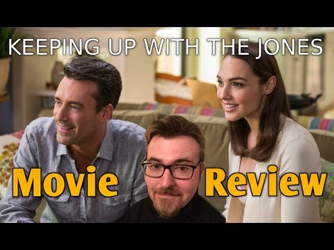KEEPING UP WITH THE JONESES | Movie Review | With A Healthy Dosage Of Hamm