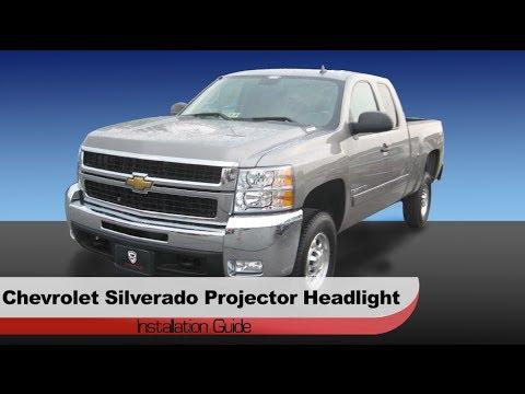 Spyder Auto Installation: 2007-13 Chevrolet Silverado Projector Headlights