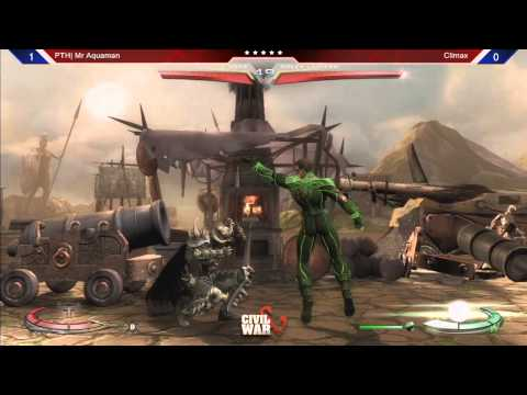Injustice: GAU @ Civil War 5: Climax (Green Lantern) vs Mr. Aquaman (Ares)
