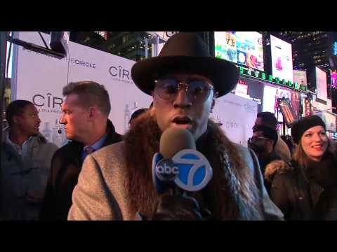 LMAO: Diddy Takes Over Channel 7 Eyewitness News In Times Sqaure