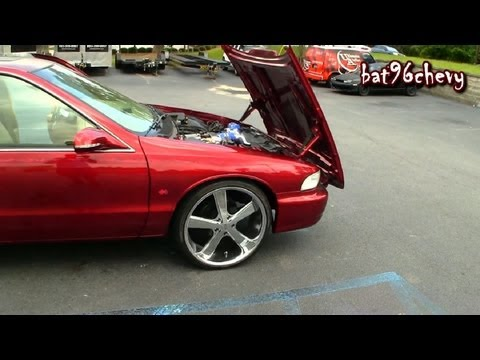 ULTIMATE AUDIO: Candy Red 96 Impala SS on 22's. w/ PROCHARGER LT1 - 1080p HD