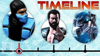 The Komplete Sub Zero Timeline (Mortal Kombat) | The Leaderboard