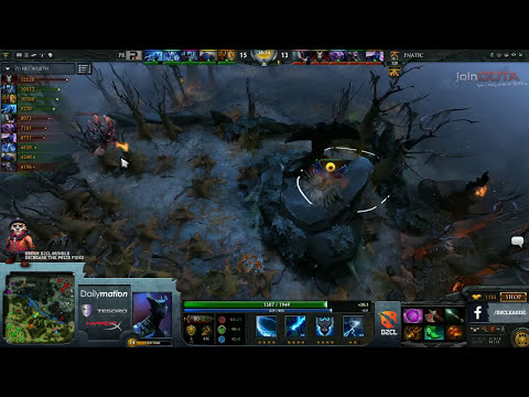 Fnatic vs Power Rangers Game 2   Dota 2 Champions League @TobiWanDOTA