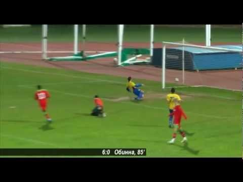 «Локомотив» - «Лагуш»  6:0