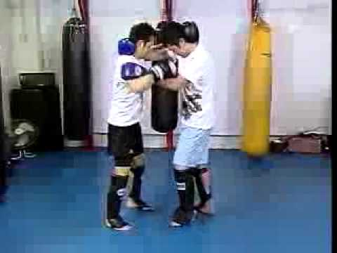 Kickboxing - Muay Thai Sparring Techniques Image 1