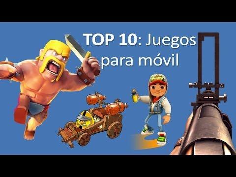 Juegos para móvil (iPhone y Android) - Top 10