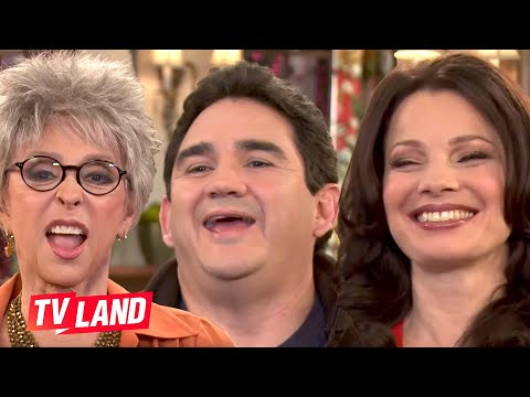 The laugh is back! Fran Drescher's co-stars do their best Fran laugh impersonation on the set of Happily Divorced.