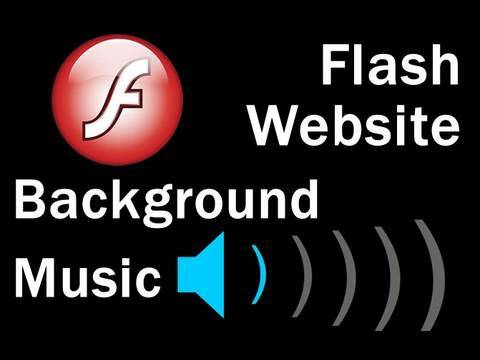 Flash Tutorial : Website Background Music with Control and Streaming Play