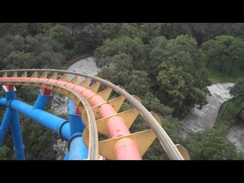 Escape de Superman Six Flags México HD Recorrido completo en primera persona