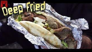Deep Fried Mediterranean Food