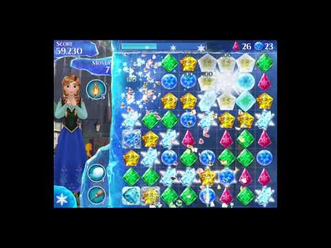 Disney Frozen Free Fall Level 40