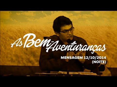 Reflexão Bíblica | 12/10/2014 - Pr. Julio Cezar (Noite)