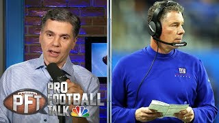 Where do Pat Shurmur, Dave Gettleman stand with the Giants? | Pro Football Talk | NBC Sports