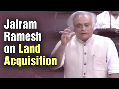 Congress MP Jairam Ramesh slams Modi government over land acquisition act
