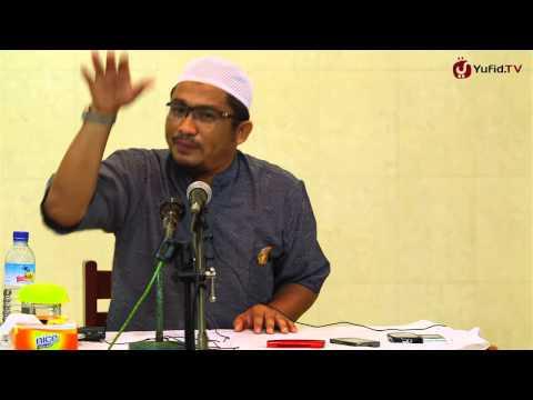 Kultum: Syirik Kecil Dan Contoh Syirik Kecil - Ustadz Abdullah Taslim, MA. - Yufid.TV