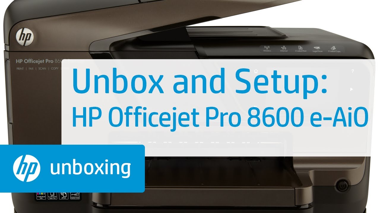 how to connect hp officejet pro 8600 to mac