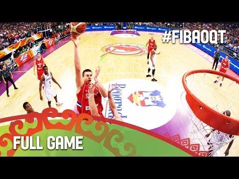 Angola v Serbia - Full Game - 2016 FIBA Olympic Qualifying Tournament - Serbia