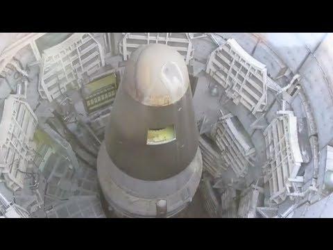 Inside a Nuclear Missile Silo!