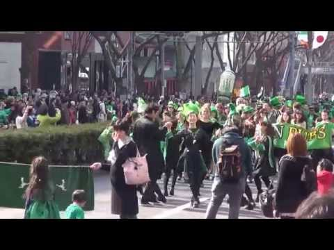 St Patrick 's Day   PARADE  in OMOTESANDO Tokyo 