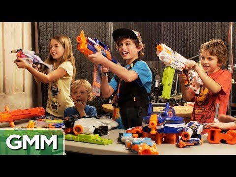 NERF Firing Squad (Feat. Our Kids)