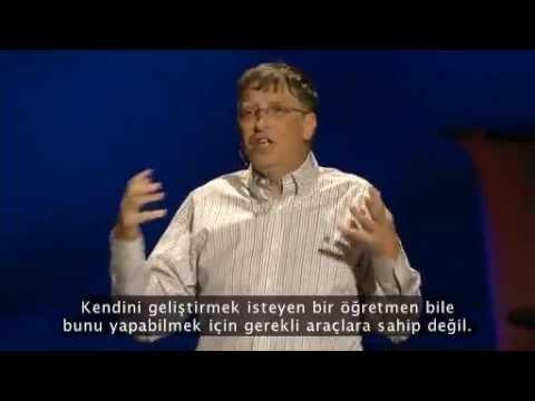 Bill Gates ile dobra dobra (TED Türkçe Altyazılı)