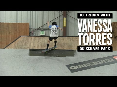 10 Tricks with Vanessa Torres - Quiksilver (2013)