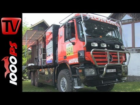 HRC Honda Racing Truck Dakar - bei der Big Enduro Ranch 2014