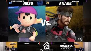 Smash Ultimate Tournament 1/18/19 - Kathryn(Ness) Vs Typo| T-Rex(Snake). - Round Robin