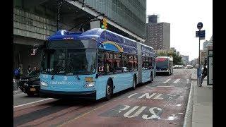 MTA NYC Bus: Bx6, Bx6 +SBS+ & Bx13 Buses @ East 161st Street & Sherman Avenue