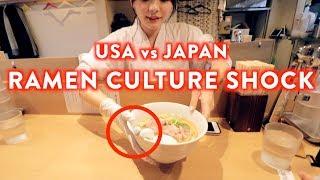 Ramen Culture Shock USA vs Japan