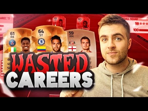 FIFA 16 - WASTED TALENT!! SQUAD OF WASTED CAREERS - FIFA 16 Squadbuilder