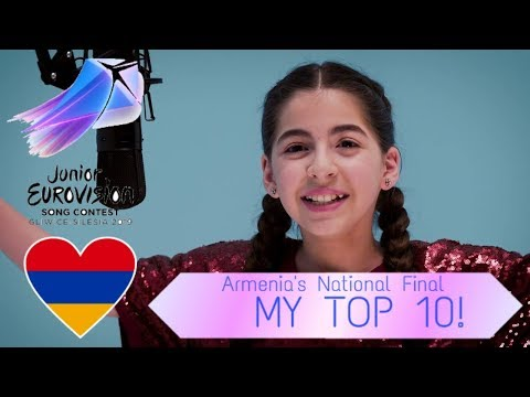 Junior Eurovision 2019 - Armenia National Final - My Top 10!