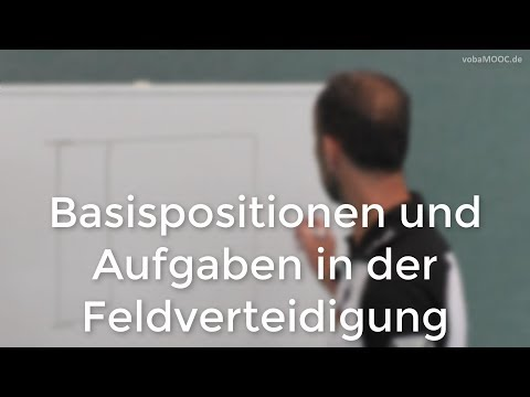 Basispositionen und Aufgaben in der Feldverteidigung - Jens Tietböhl