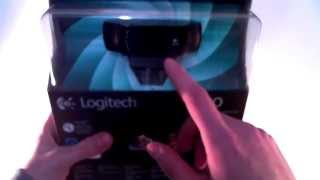 Webcam HD Logitech C920 - Unboxing