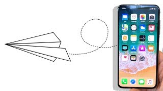 Kağıt Uçağı Bul iPhone X Senin Olsun