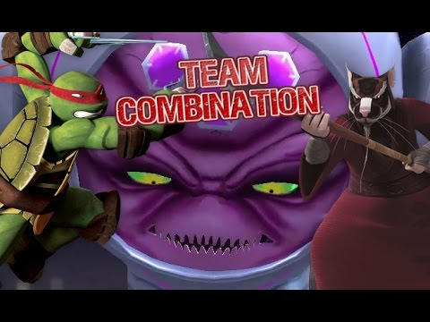 Ninja Turtles Legends Team Combination Duo part 1
